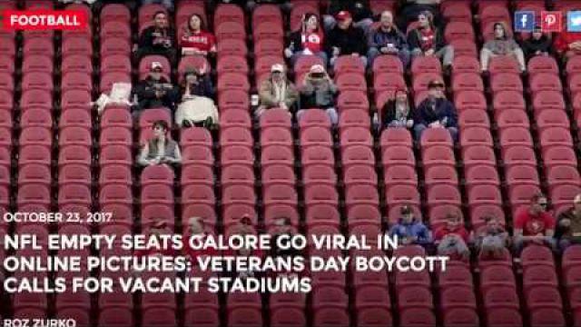 NFL empty seats