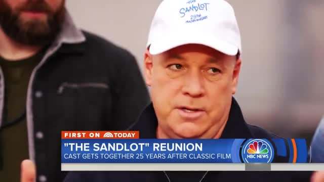 'The Sandlot' Stars Reunite 25 Years After Release Of Classic Film | TODAY