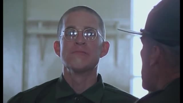 Full Metal Jacket Opening Scene