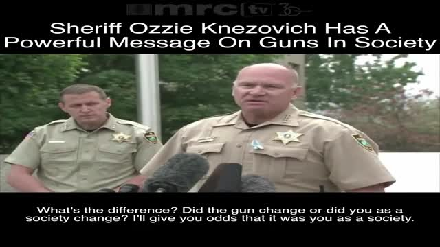 Sheriff Ozzie Knezovich On Guns In Society
