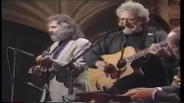 Jerry Garcia & David Grisman-Friend of the Devil, Late Night 9-15-93