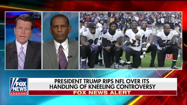 Burgess Owens speaks out about the NFL