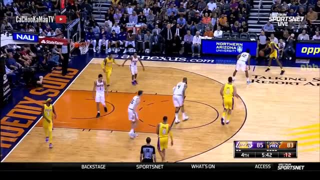 November 13, 2017 - Lakers vs. Suns - 2nd Half Team Highlights