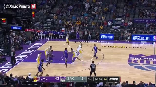 LA Lakers vs Sacramento Kings - Full Game Highlights | November 22, 2017 | 2017-18 NBA Season