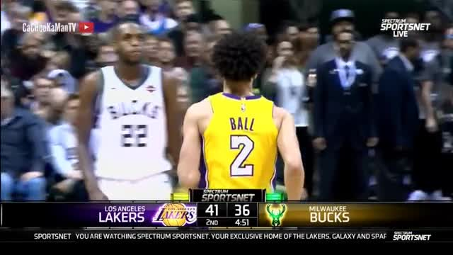 November 11, 2017 - Lakers vs. Bucks