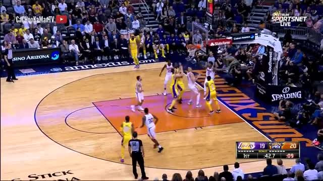 November 13, 2017 - Lakers vs. Suns - 1st Half Team Highlights