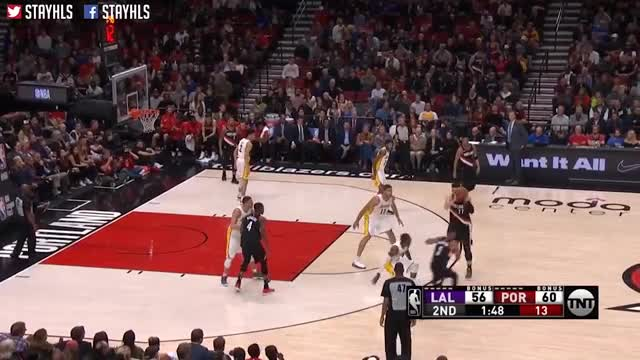 Los Angeles Lakers vs Portland Trail Blazers Full Game Highlights