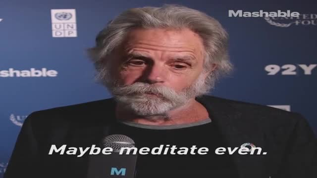 Grateful Dead legend Bob Weir reveals his key to good vibes.