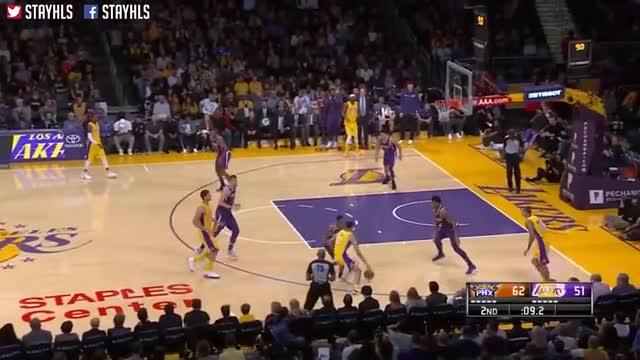 LA Lakers vs Phoenix Suns Full Game Highlights / Week 5 / 2017 NBA Season