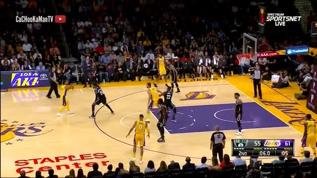 November 3, 2017 - Nets vs. Lakers