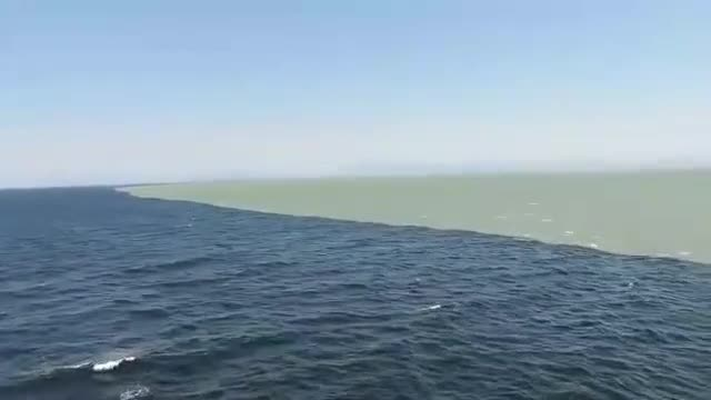 Atlantic and Pacific Ocean meet