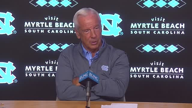 UNC Men's Basketball: Roy Williams Summer Press Conference