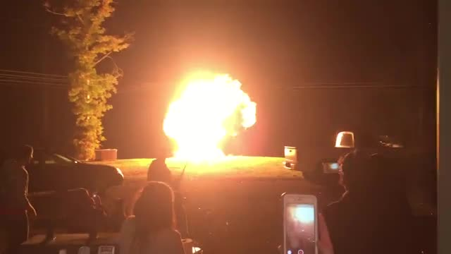 Shooting a 5 gallon Propane Tank