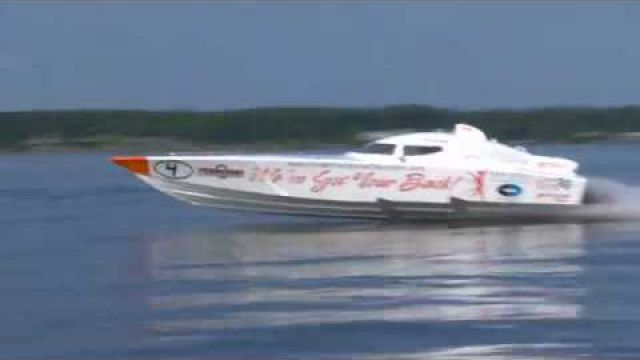 2011 Super Vee light Fountain 30 Racing Boat - YouTube