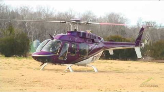 Helicopter Bell 407 Take…