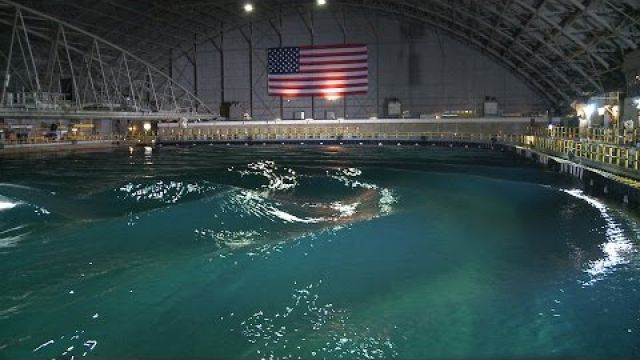 The Navy's Indoor Ocean