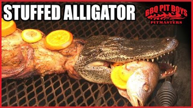 Alligator recipe by the…