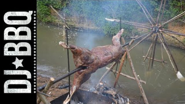 Water Wheel Spit Roast | DJ BBQ / Hunter Gather Cook
