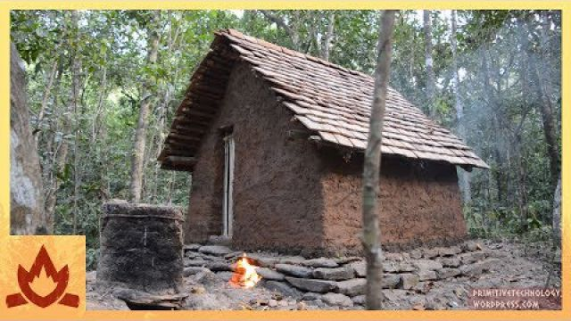 Primitive Technology: Tiled Roof…