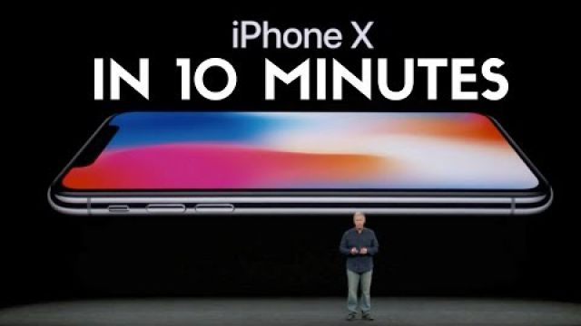 Apple iPhone X Event in 10 Minutes!