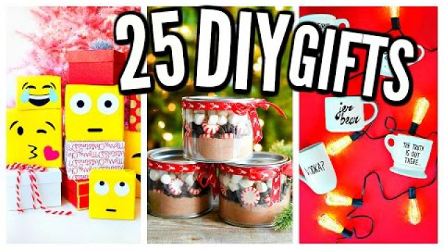 25 DIY Christmas Gifts!…
