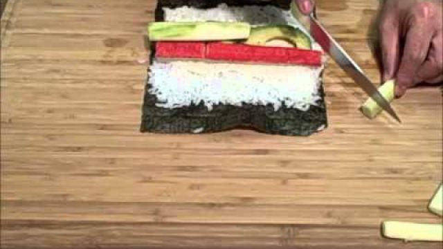 California Roll How To…