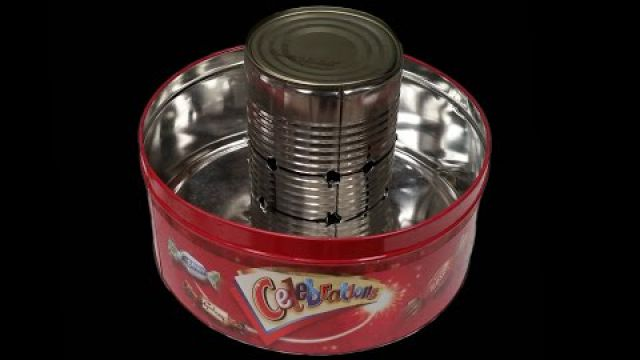 Homemade Tin Can Waste…