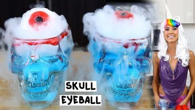 The Skull Eyeball Cocktail - Tipsy Bartender