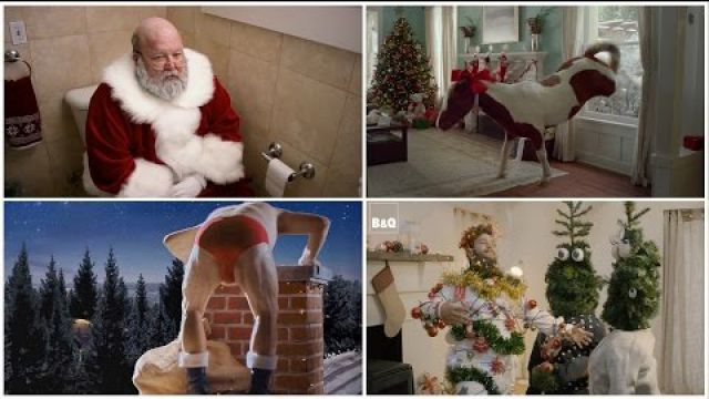 Top 10 Most Funniest Christmas Die Laughing Commercials Ever