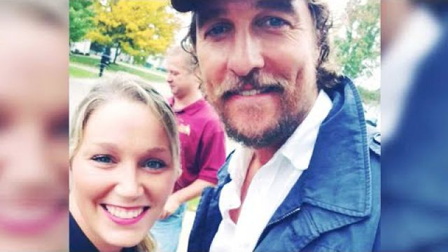 Matthew McConaughey delivers free…