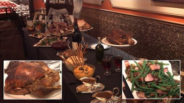See What The Most Expensive Thanksgiving Dinner In History Includes for $50,000