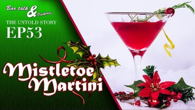 How to make a Mistletoe Martini - Christmas Cocktails