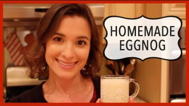 Homemade Eggnog: Holiday Recipe